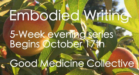 Embodied Writing 5 Week Series with Jones Franzel – FULL